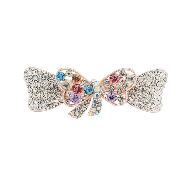 Elegant Crystal Hair Clip