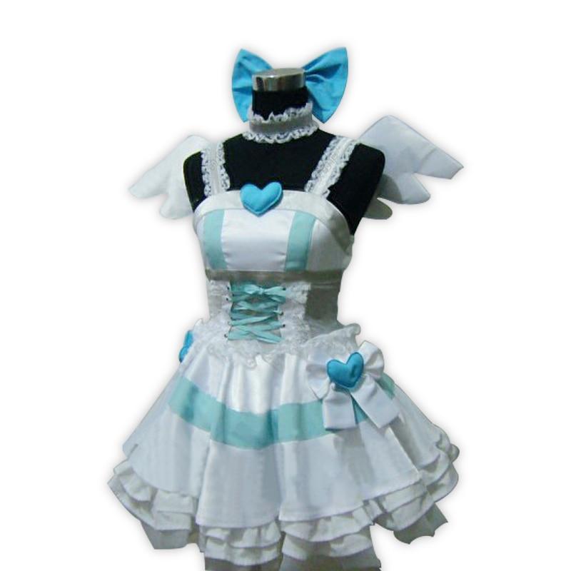 Anime Panty & Stocking  Garterbel Stocking Cosplay Costume full set free shipping