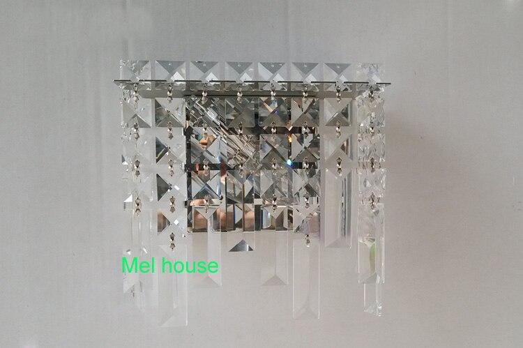 Moderne kristall wand lampe leuchte licht dressing tisch spiegel