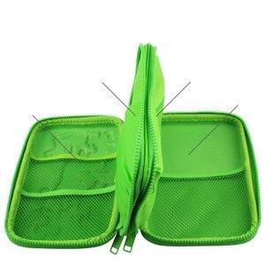 Image 4 - Kawaii Pencil Case School for Girls Boys Pen Bag Cute 3D Penal Large EVA Pencilcase Kit 2 Layers Zipper Big Box Stationery Pouch