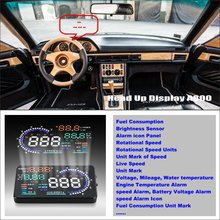 Liislee Car HUD Head Up Display For Mercedes Benz S MB W126 W140 W220- Reflect car message on windshield to maintain best status