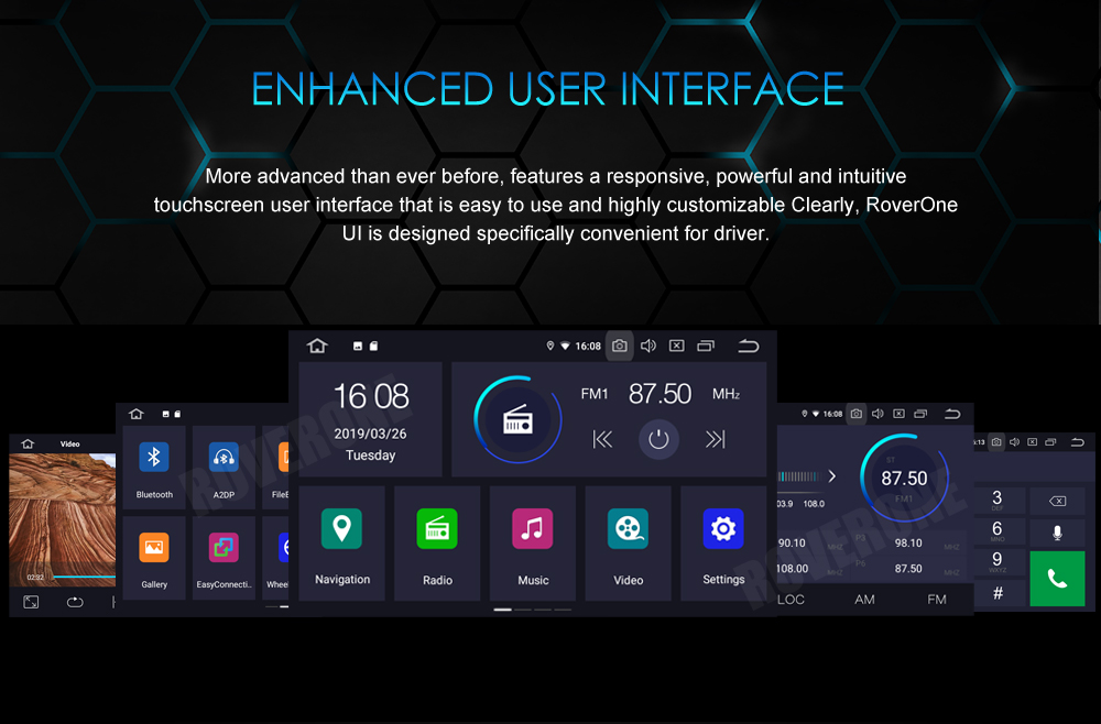 Sale For Suzuki Jimny 2007 - 2013 Android 9.0 2G+16G Quad Core Autoradio Car DVD Radio Stereo GPS Navigation Multimedia Player 18