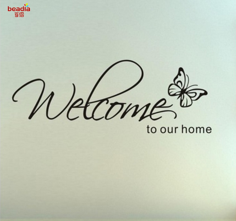 Modern Home Wall Decoration English Proverbs Vinyl Wall Stickers Living Room Hotel Office Decoration Wall Stickers