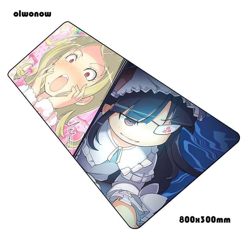 <font><b>senran</b></font> <font><b>kagura</b></font> mouse pad HD pattern pad mouse notbook computer mousepad cool new gaming padmouse gamer laptop 80x30cm mouse mats image