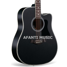 41 inch Black color Acoustic guitar of Afanti Music (AAL-1041)