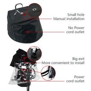 Image 5 - Светодиодный светильник с движущейся головкой 5R 7R, 10 шт., защита от дождя, водонепроницаемый дождевик, пальто для снега, уличное сценическое освещение