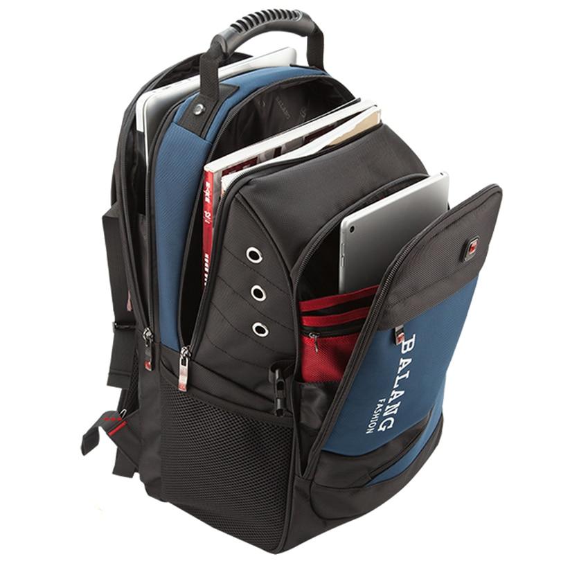 Image 2 - BaLang Brand Design Man Laptop Backpack Mens Travel Bag  Waterproof Shoulder Bags for Computer School Nylon Bags Travel  Backpacklaptop backpacks menmen laptop backpackbackpack brand -