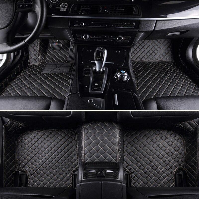 FUZHKAQI Custom car floor mats for Acura all models MDX RDX ZDX CDX TLX L RL