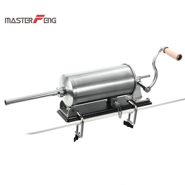 6 lbs / 3kg Stainless Steel Sausage Filling Machine 4