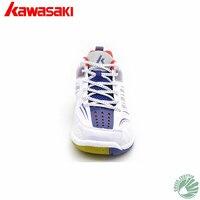 2018 Новый профессиональный Kawasaki 100% оригинальные высокие эластичные инкапсулированные K-155 K-156 унисекс профессиональный бадминтон обувь