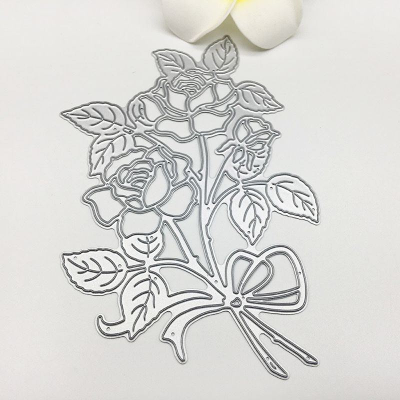 Carbon Steel Flower Vine Trim Cutting Die Embossing Stencil Template Mold DIY