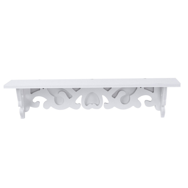 NEW WPC Board Bathroom Wall Racks White Hollow out Decorative ...