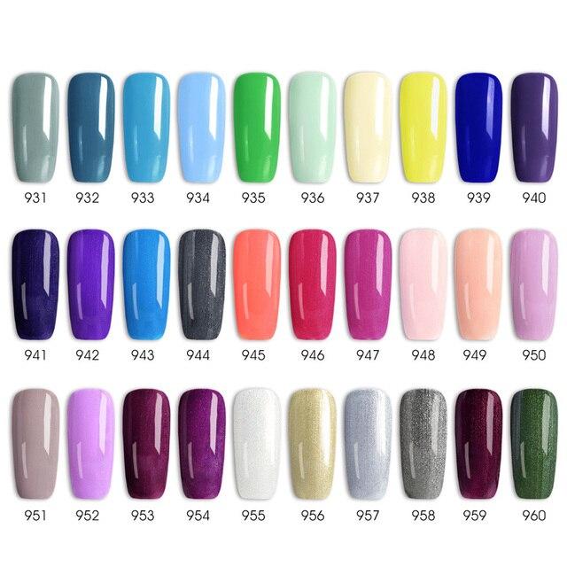 7.5ml VENALISA Nail Gel Polish High Quality Nail Art Salon 60 Colors Soak off UV LED Nail Gel Varnish Camouflage Color Lacquer 5