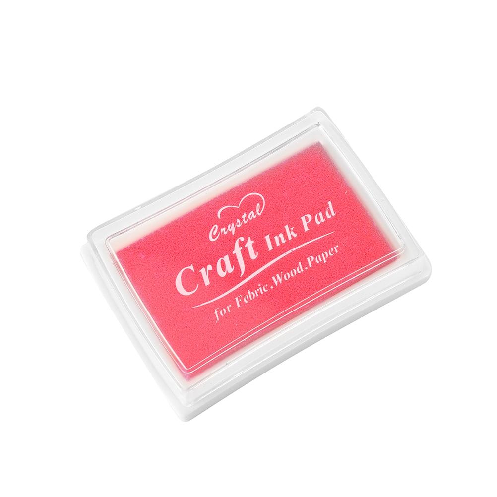 Badge Holder & Accessories Labels, Indexes & Stamps Useful Peerless 10 Colors Diy Ink Pad Stamp Inkpad Decoration Fingerprint Scrapbooking Accessories