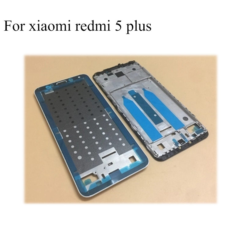 Original Middle Housing Frame For xiaomi mi redmi 5 plus 5plus Middle Frame Replacement Repair Spare Parts Tested