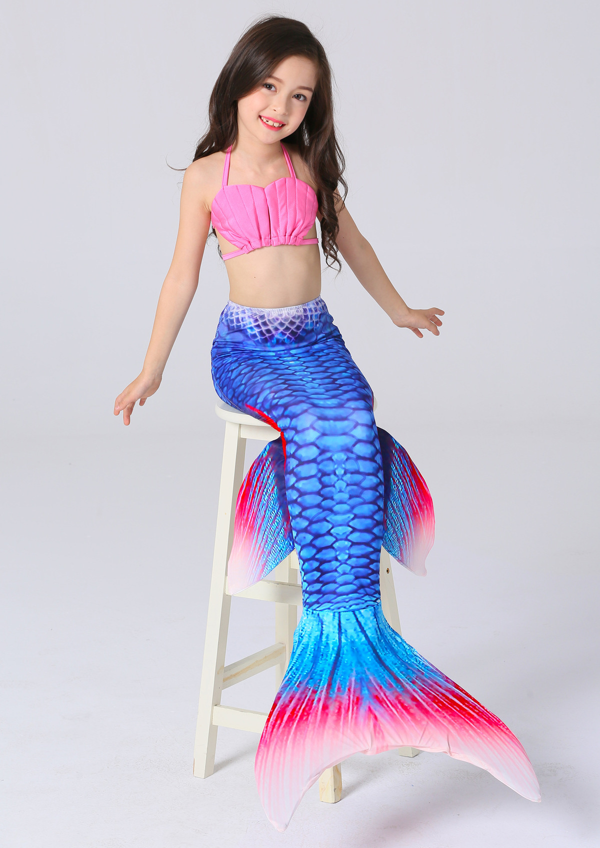 Mother & Kids Children Little Girls Mermaid Tail Tails For Swimming Women Adult Costume Swimmable Kids For Adults Party Swimsuit Bathing Suit
