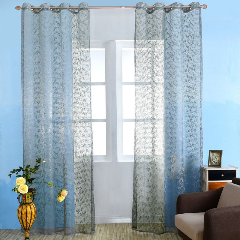 Bed Room Window Curtain Divider Drape Panel Balcony Valance Home Kitchen Decor 2018 Hot Sale