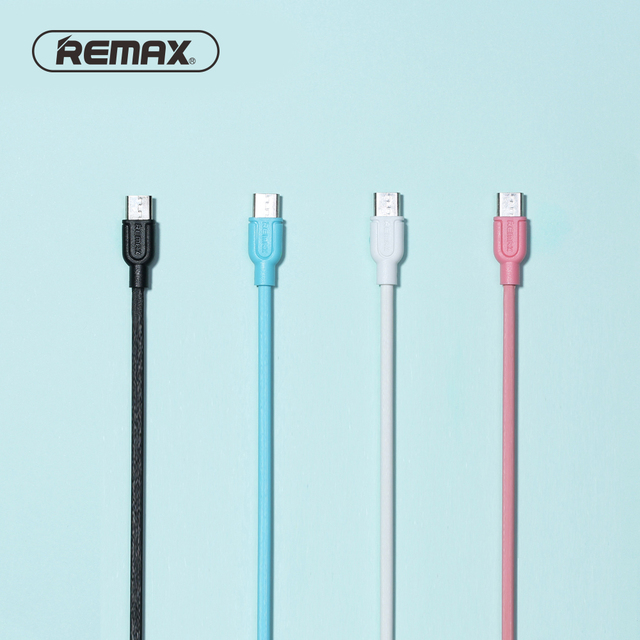 REMAX Souffle Micro USB Data Cable PVC Fast Charging Sync Mobile ...