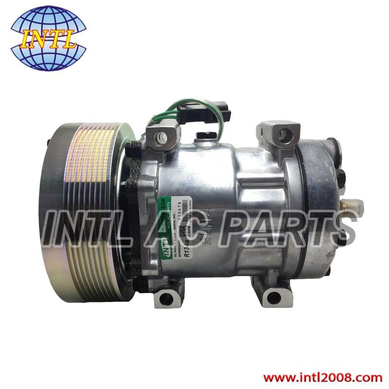 183 5106 1835106 4840 4302 Sanden 7H15 7S15 709 SD709 SD7H15 auto ac compressor for Caterpillar