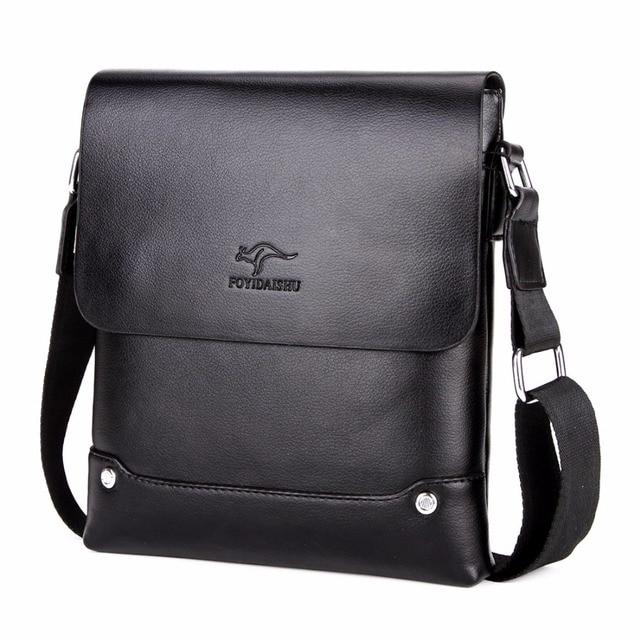 2018 известный бренд из искусственной кожи мужские сумки через плечо  однотонные мужские сумки через плечо повседневные c41c5bd7861d5