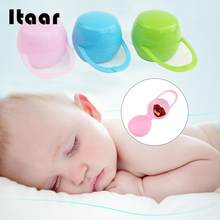 NUK Baby Mam Pod Soother Pacifier Dummy Travel Storage Box Case Holder 0m+(China)