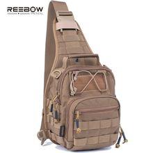 Reebow Военная Тактическая однолямочная сумка для повседневного