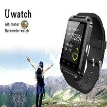 Smartwatch Smartphone Intelligente smart uhr Bluetooth höhenmesser barometer U8 Armbanduhr touchscreen Android