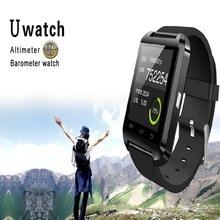Smartwatch Smartphone Intelligent smart watch Bluetooth altimeter barometer U8 Wristwatch touch screen Android