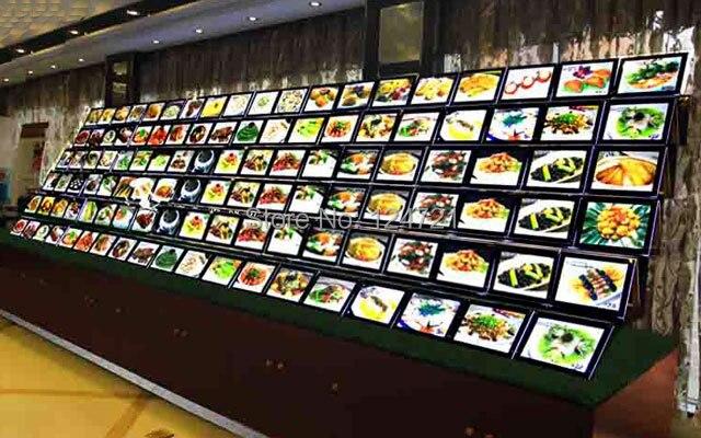 com buy fast food restaurant led menu boards led crystal light