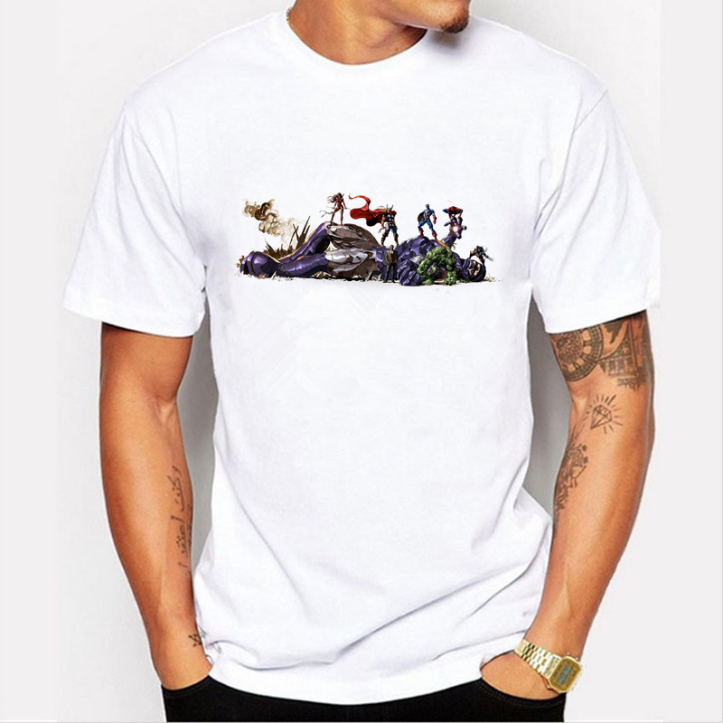 3d Print Avengers T-shirt Ironman Captain America Eisen Männer Hawkeye Witwe T-shirt Super Hero Nach Maß T-shirt 81-16 #