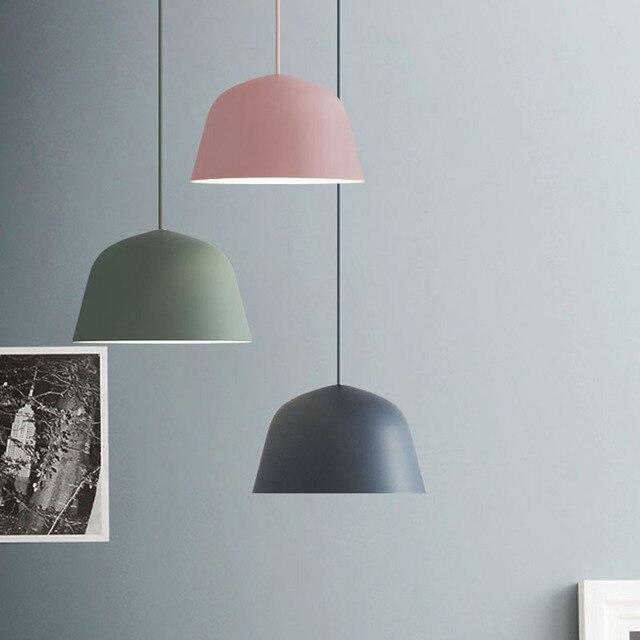 2017 nuovo semplice colore macaron lampada a sospensione - Lampade x cucina ...