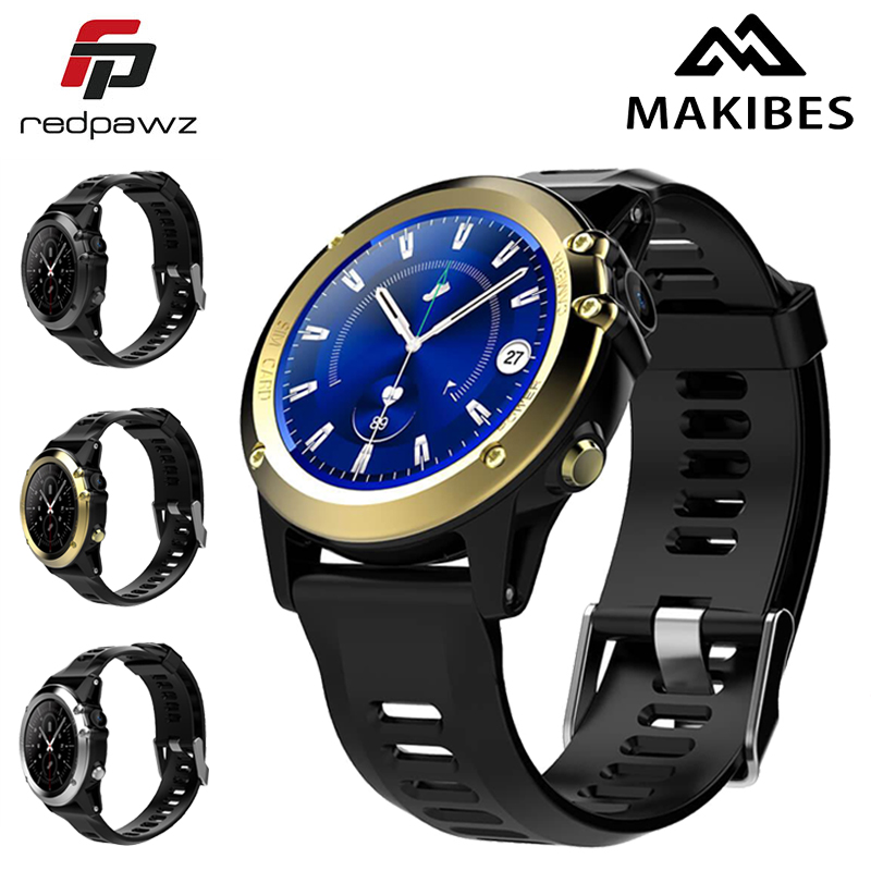 Makibes H1 MTK6572 Smart Watch IP68 Waterproof Heart Rate Tracker Pedometer Call/Sleep reminder 4GB 512MB 3G GPS Wifi For Androi wireless service call bell system popular in restaurant ce passed 433 92mhz full equipment watch pager 1 watch 7 call button