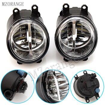 Mzorange Fog Lamp Assembly Lampu Kabut untuk Toyota Avensis Auris RAV 4 III Camry untuk Corolla Prius Yaris 2003- 2015 LED Lampu Kabut