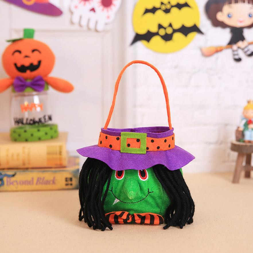 Halloween Kids Doll Candy Sweet Jar Box Children Storage Cans Party House Decor 2018 Hot Sale