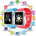 Bluetooth A1 akıllı saat çocuklar çocuklar için bebek erkek kadın spor kol saati destek 2G SIM TF kamera Smartwatch Android için telefon