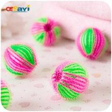 2Pcs Magic Soft ECO font b Laundry b font font b Balls b font Fabric Hair