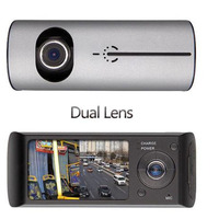 New Arrival 2 7 Inch LCD Car Dual Lens DVR Camera Video Recorder Full Hd 140