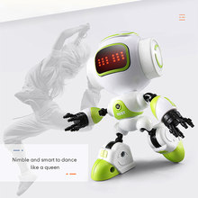 JJR/C R9 RC Robot LUBY Intelligent Robot Touchable Control DIY Gesture Talk Smart Mini RC Robots for Children Kids Toys(China)