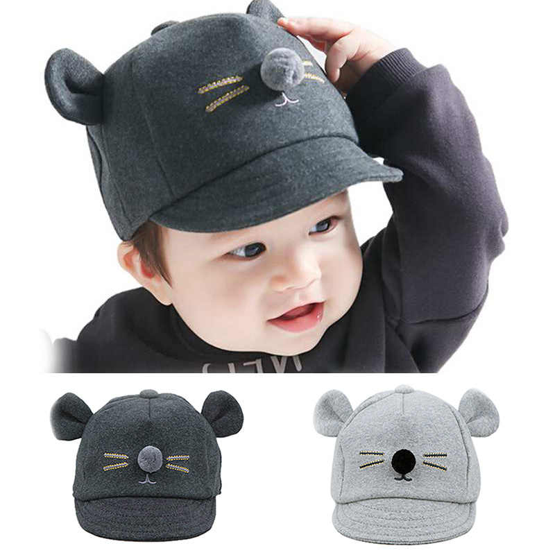 16a1d65582a Cute Baby Hats For Girls Boys Baseball Cap Children Snapback Summer Sun  Visor Caps Baby Girl