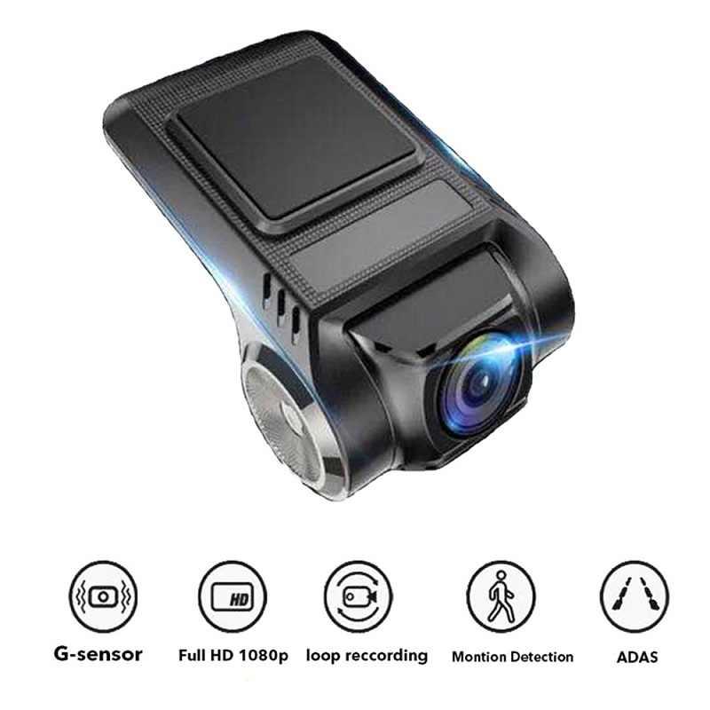 TOSPRA ADAS Мини Автомобильный видеорегистратор камера Full HD Автомобильный цифровой рекордео для видеорегистратора ночного видения wifi тире монитор камеры