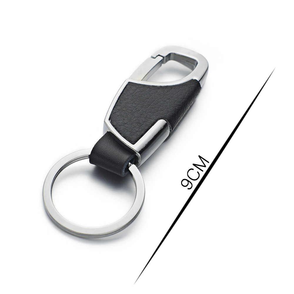 2017 nuevos llaveros de cuero de alta calidad llaveros para coche Chaveiro innovador llavero anillos soporte para hombre mejor regalo K264