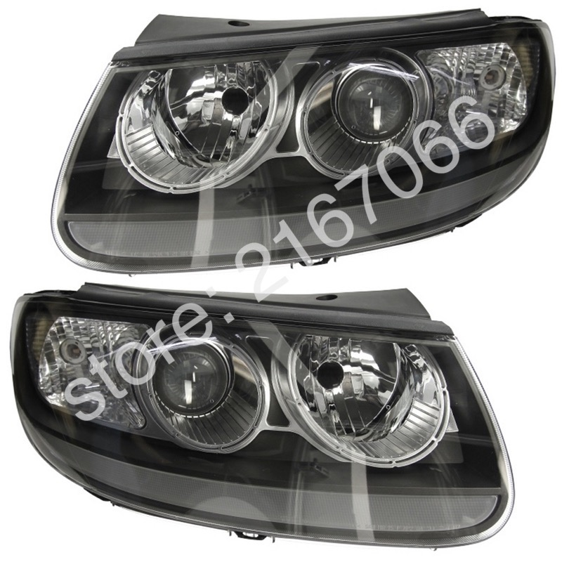 Headlights Pair for HYUNDAI SANTA FE 2006 2007 2008 2009 2010 2011 2012 SET  Right + Left Side Electronic Leveling Included-in Car Light Assembly from  ...