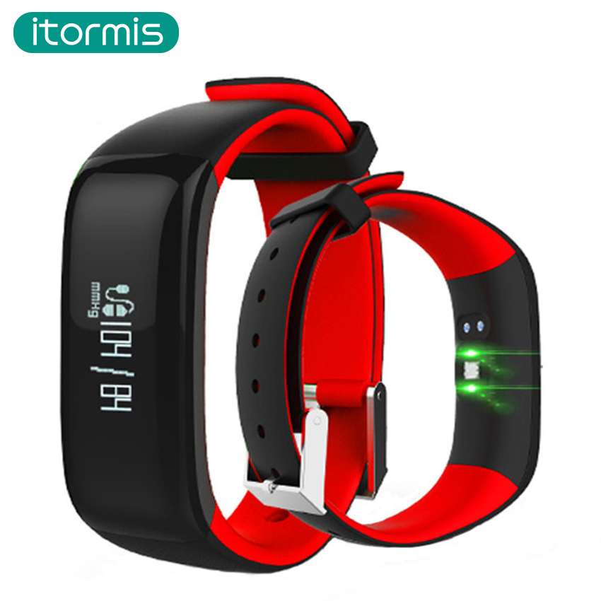 itormis Newest B01 SmartBand Fitness Bracelet PK mi band 2 Pedometer Blood Pressure Heart Rate Monitor
