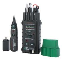 MS6813 ручной сетевой кабель телефонной линии тестер детектор трекер BNC RJ45 RJ11 Cat5 Cat6 LAN Кабельный тестер