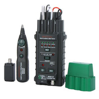 MS6813 Handheld Network Cable Telephone Line Tester Detector Tracker BNC RJ45 RJ11 Cat5 Cat6 LAN Cable Tester