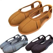 Shaolin Shoes Sandals Buddhist-Lay Monk Unisex Meditation Zen Lohan Arhat Grey/coffee