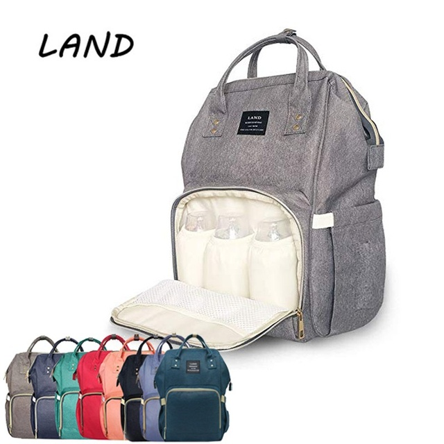 a2a80b9cc LAND Diaper Bag Multi-Function Waterproof Travel Backpack Nappy Bags for Baby  Care