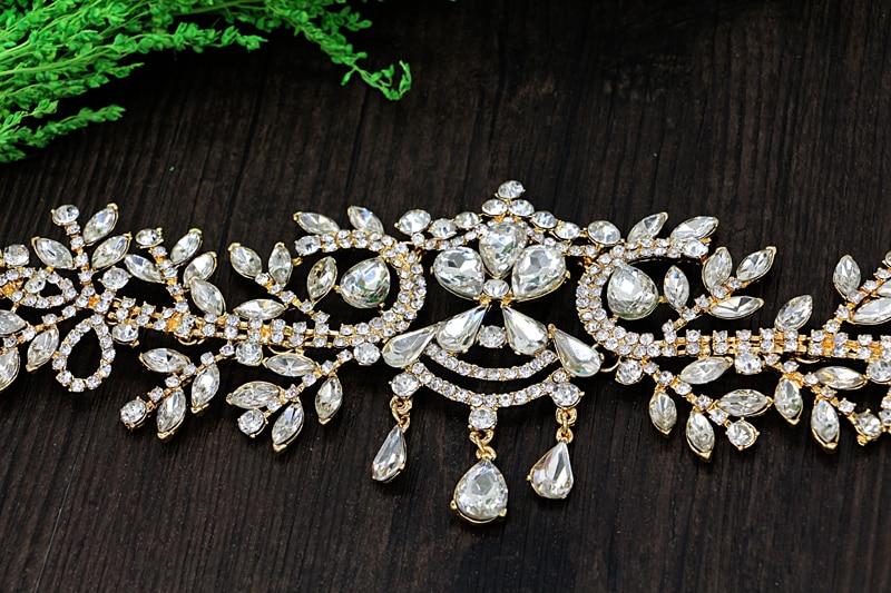 Άγγελος Rhinestone Γάμος Αξεσουάρ Μαλλιών - Κοσμήματα μόδας - Φωτογραφία 5