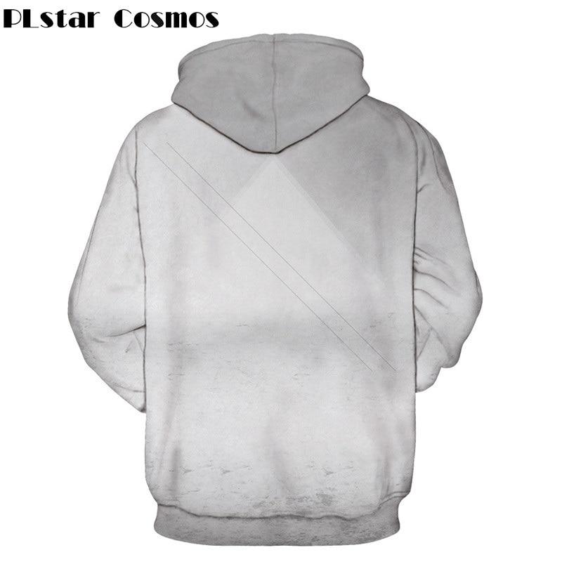 PLstar Cosmos 3D Sika Deer Cartoon Printed Hoodies Casual Pullovers Men/Women Autumn Spring Sweatshirt Tracksuits Hoodie