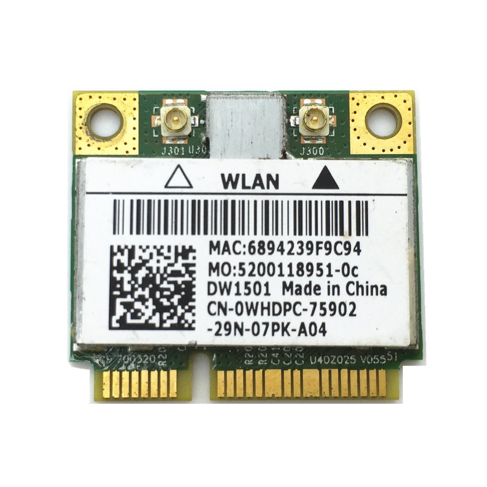 Free Shipping Broadcom 4313 DW1501 BCM94313HMG2L Wireless Wifi Mini Pcie Half Card For  For N3010 D1510 N4010 3400 15R